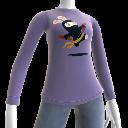 Maglietta a maniche lunghe Ninja Rabbid