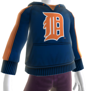 Detroit Tigers Hooded Sweatshirt 