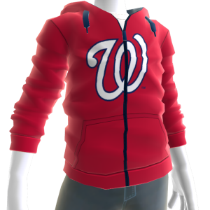 Nationals Zip Hoodie