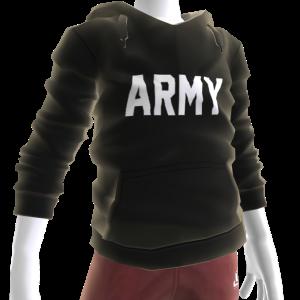 Army Hoodie - Black