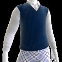 Chaleco y camisa de geek