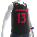 All-Star Game West Harden Jersey