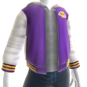LA Lakers Varsity Jacket