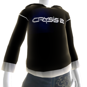Black Crysis 2 Hoodie   