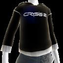 Pull à capuche noir Crysis2