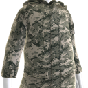 Military Camo Field Jacket
