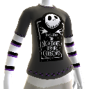 Nightmare Before Christmas-Logo-T-Shirt