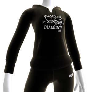 Diamond Seeking Diamond Hoodie