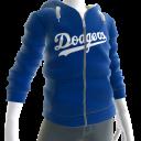 Dodgers Zip Hoodie