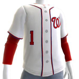2017 Nationals Home Jersey