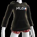 MLG Logo Female Hoodie