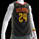 2018 Hawks Bazemore Jersey
