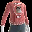 Grumpy Cat Sweater - Pink