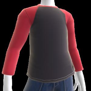 Matador Raglan (Charcoal/Red)