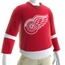 Maillot des Detroit Red Wings