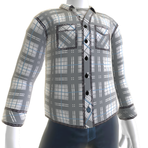 Master Flannel - White