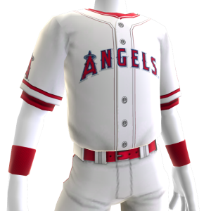 Los Angeles Angels Home Game Jersey