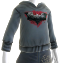 The Dark Knight Rises Batman Logo Hoodie #2
