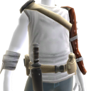 Zombie Battle Gear - White