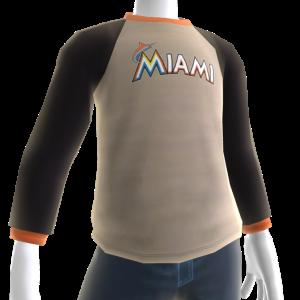 Miami Marlins Long Sleeve T-Shirt
