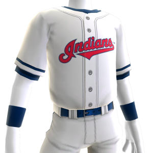 Cleveland Indians Home Game Jersey