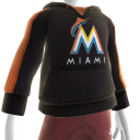 Miami Marlins Hooded Sweatshirt
