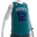 2018 Hornets Howard Jersey