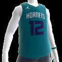 2018 Hornets Howard Jersey