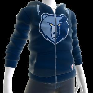 Grizzlies Zip Hoodie