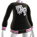 Just Dance 3 Varsity Jacket