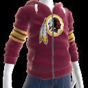 Redskins Zip Hoodie