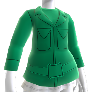 Green Army Men Jacket