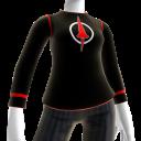Bluza w stylu Karmazynowej Lancy