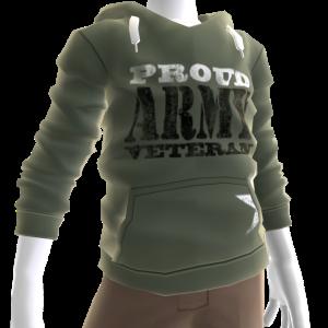 Proud Veteran Hoodie