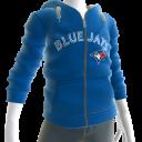 Blue Jays Zip Hoodie