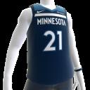 2018 Timberwolves Butler Jersey