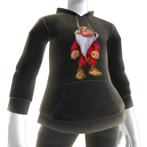 Sweat capuche Grincheux