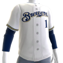 2017 Brewers Home Jersey