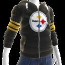Steelers Zip Hoodie