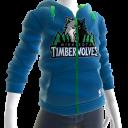 Timberwolves Zip Hoodie