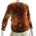Fire Galaxy Sweatshirt