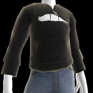 Atticus Silhouette Black Hoodie