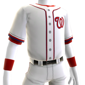 Washington Nationals Home Game Jersey