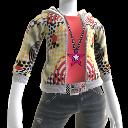 Sweat-shirt à capuche «Tribal»