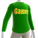 Green Gamer Gold LS Shirt