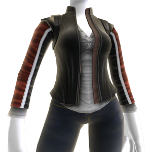 Lara Biker Jacket Elemento Avatar