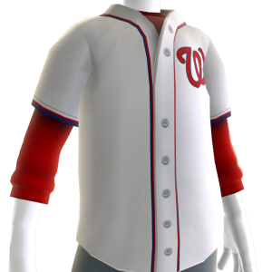 Washington Nationals Home Jersey