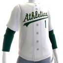 2017 Athletics Home Jersey