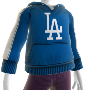 Los Angeles Dodgers Hooded Sweatshirt