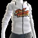 Street Fighter™ White Hoodie